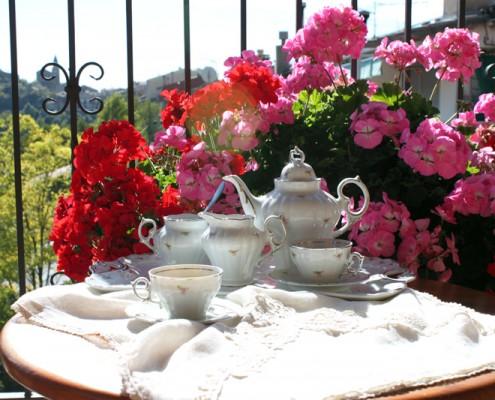 decoracion mesa de cafe